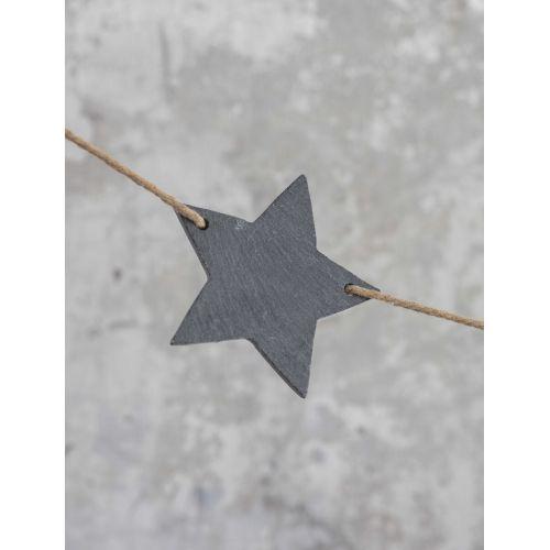 Girlanda z hvězdiček Slate