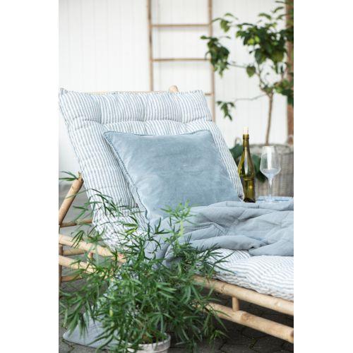 Matrace z recyklované bavlny Blue Stripes 70x190cm