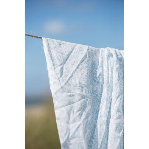 Bavlněný šátek Blue Pattern