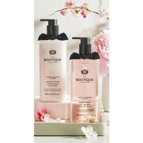 Tekuté mýdlo Boutique Cherry Blossom & Peony 500ml