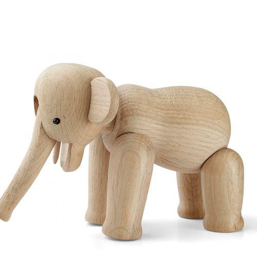 Dřevěný slon Oak Elephant Mini 9,5 cm