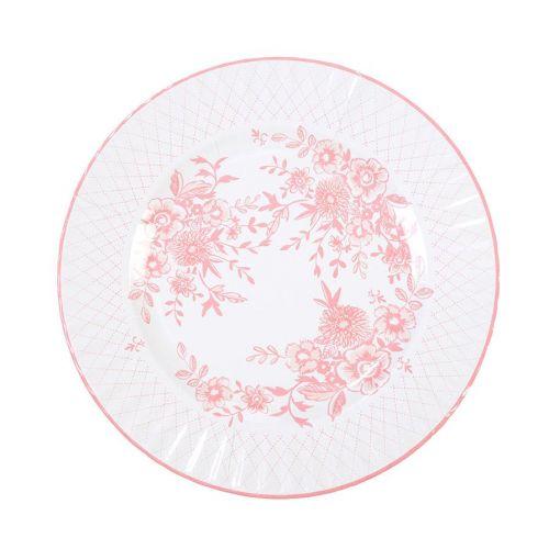 Papírové talíře set 8 kusů