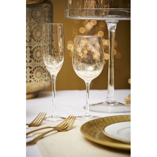 Sklenička na víno Scintille d'Or
