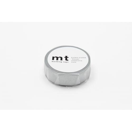Designová samolepicí páska Metal silver
