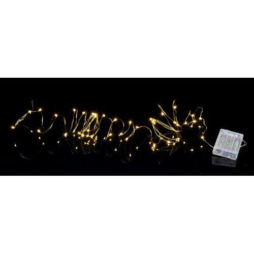Světelný LED drátek Brass Light