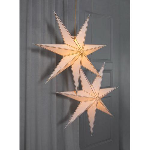 Závěsná svítící hvězda Nicolas Silver 80 cm