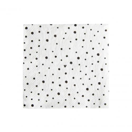Papírové ubrousky Smile Dots Small - 20 ks