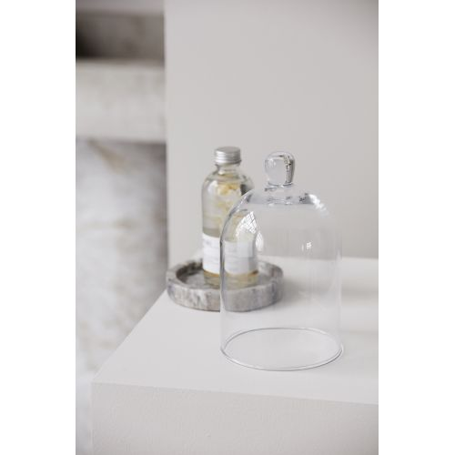 Skleněný dekorativní poklop Glass