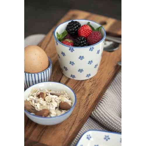 Latte cup Casablanca Bloom Blue