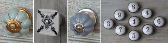 Nábytkové a porcelánové úchytky