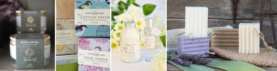 Kosmetika a přírodní mýdla