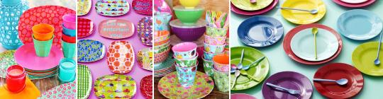 Melaminové nádobí