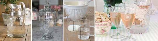 Skleněné nádobí
