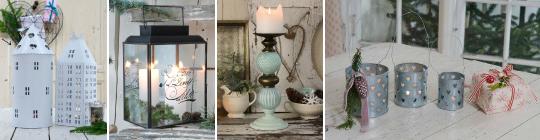 Lucerny, svícny a svíčky