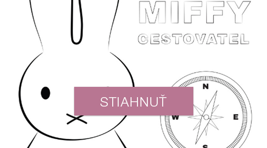 Omaľovánky - Miffy cestovateľ