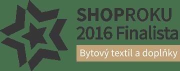 Shop roku 2016 - Bytový textil a doplňky
