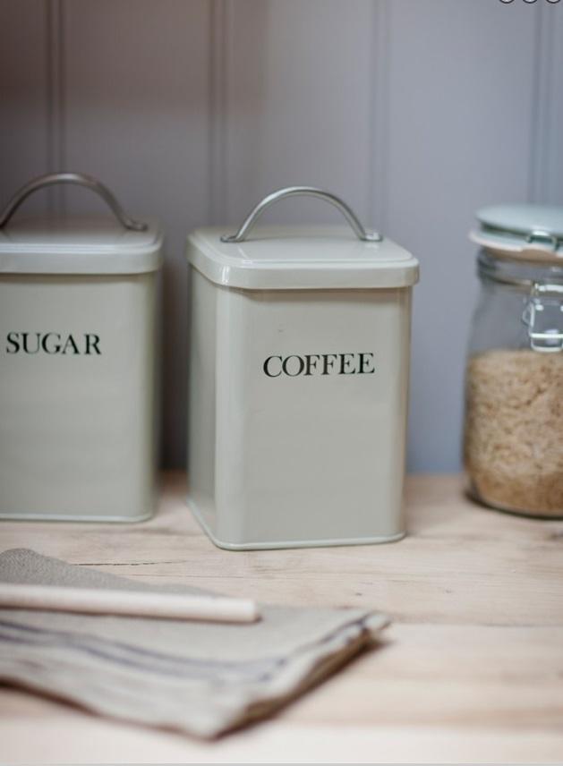 Garden Trading Plechová dóza Coffee - clay