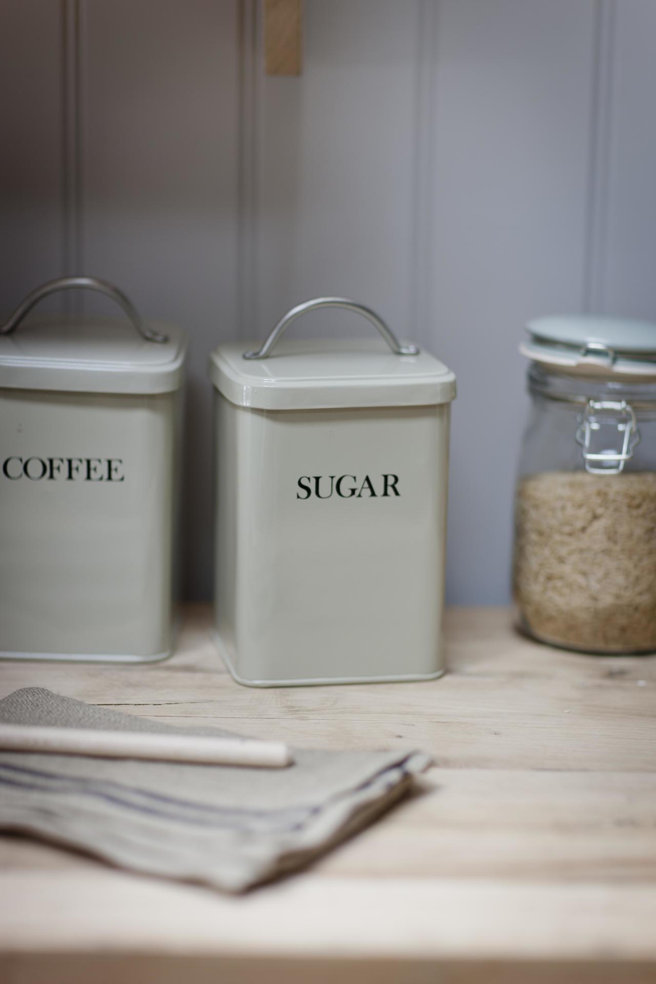 Garden Trading Plechová dóza Sugar - clay