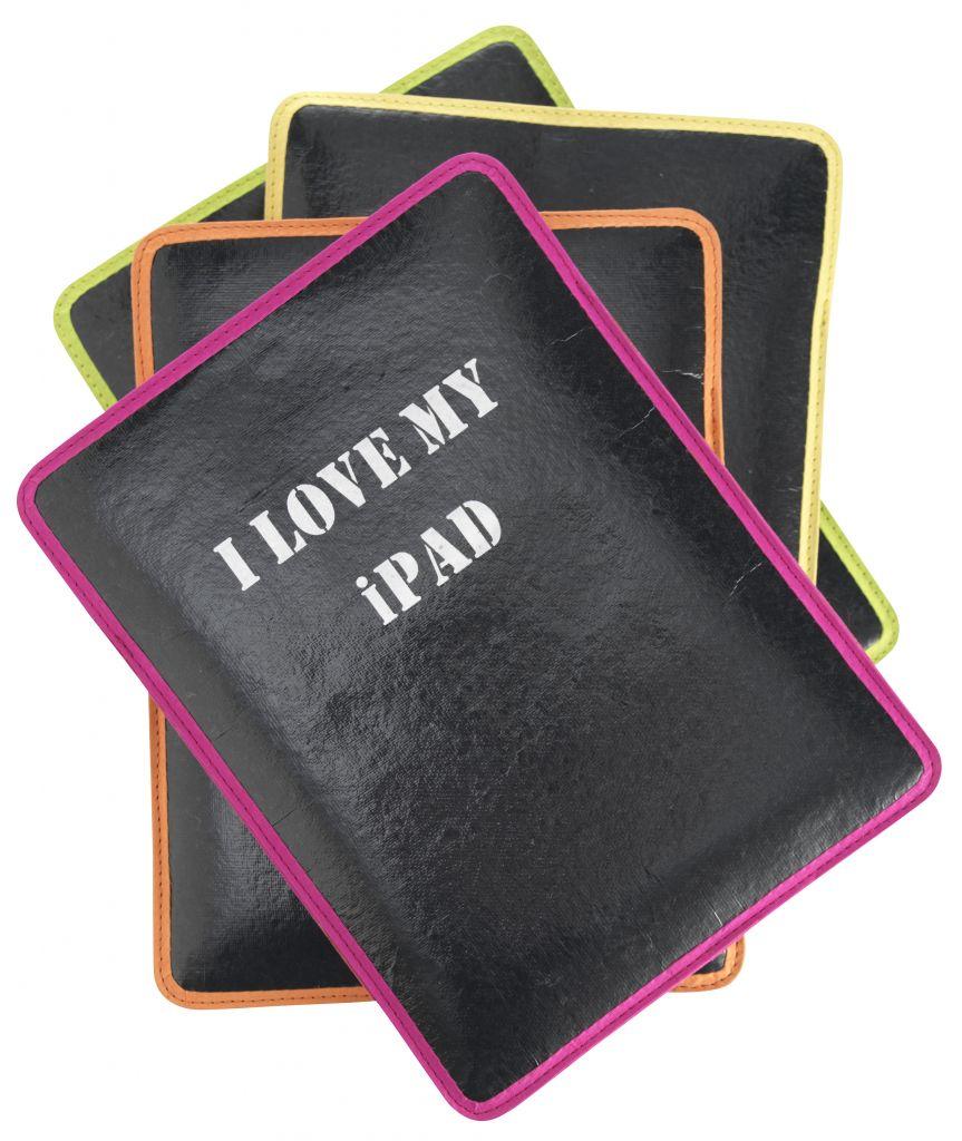 Madam Stoltz Obal na iPad Růžový