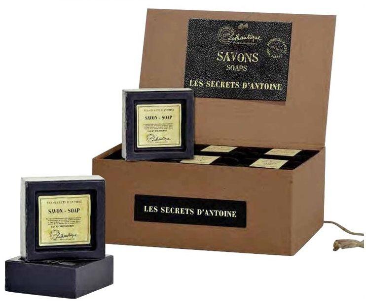 Lothantique Mýdlo Les Secrets D`Antoine 100 gr, černá barva