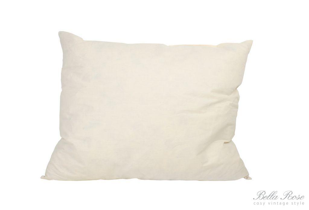 Výplň do polštářů 60x40, bílá barva, textil
