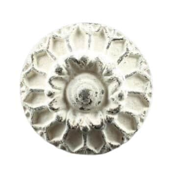 La finesse Kovová úchytka Flower big, béžová barva, kov