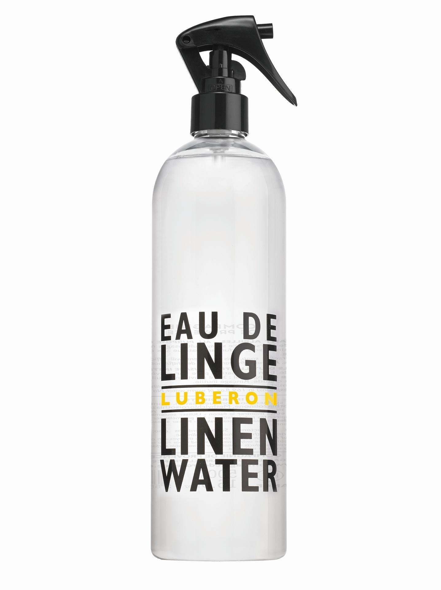 COMPAGNIE DE PROVENCE Sprej na prádlo Luberon 500 ml, bílá barva, plast