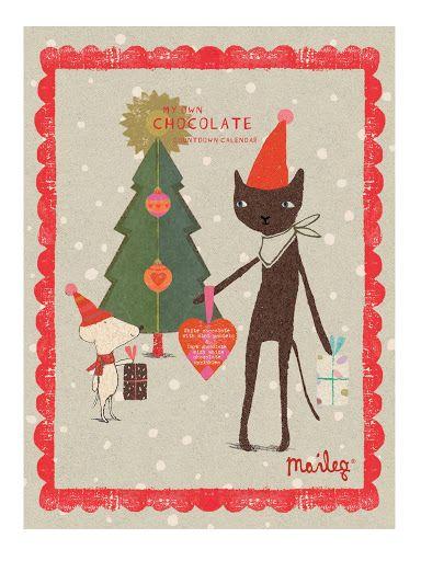 čokoládový adventní kalendář Maileg