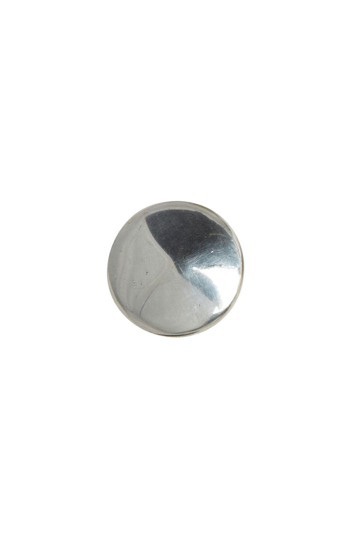 House Doctor Kovová úchytka Silver plated, stříbrná barva, kov