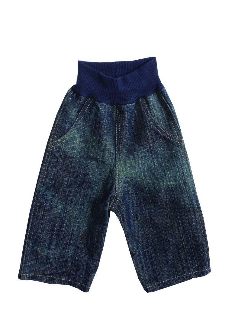 Maileg Džíny - maxi, modrá barva, textil
