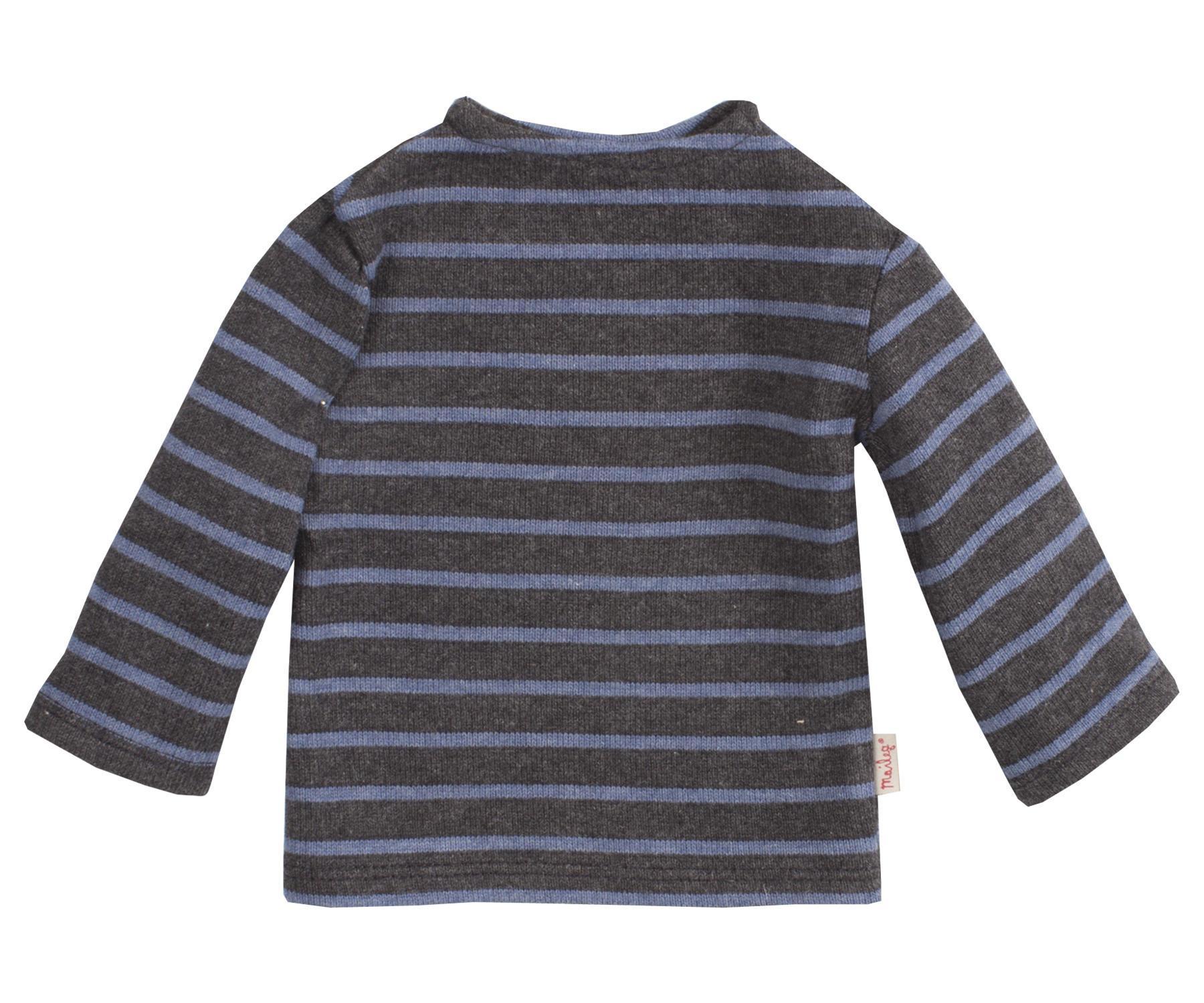 Maileg Triko blue - mega, modrá barva, textil