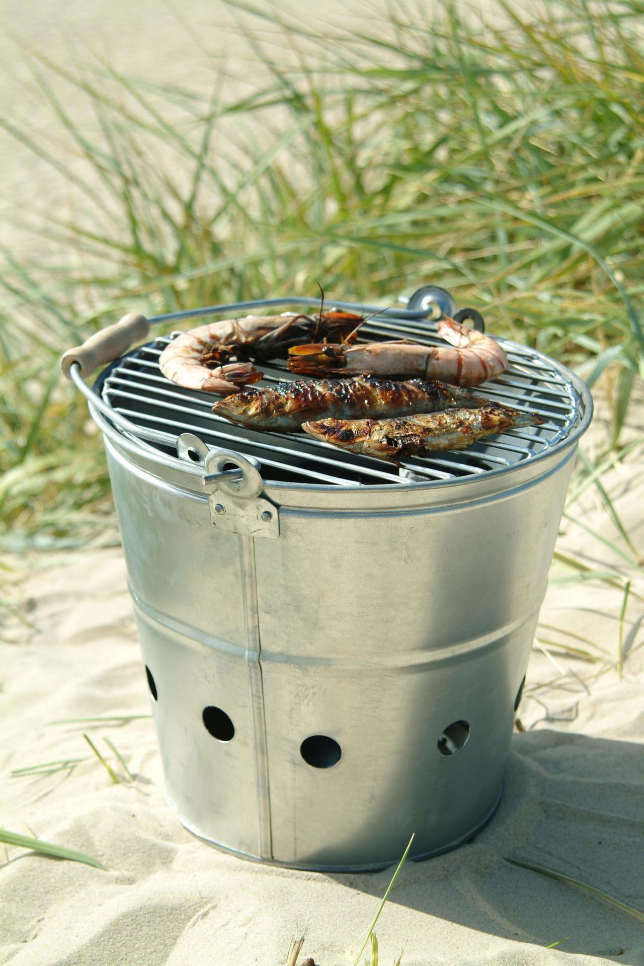 Garden Trading Přenosný grill BBQ - menší
