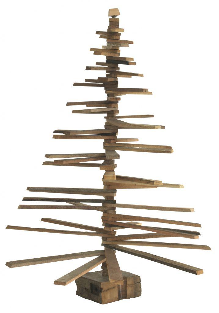 Madam Stoltz Vánoční stromeček Wood 90 cm