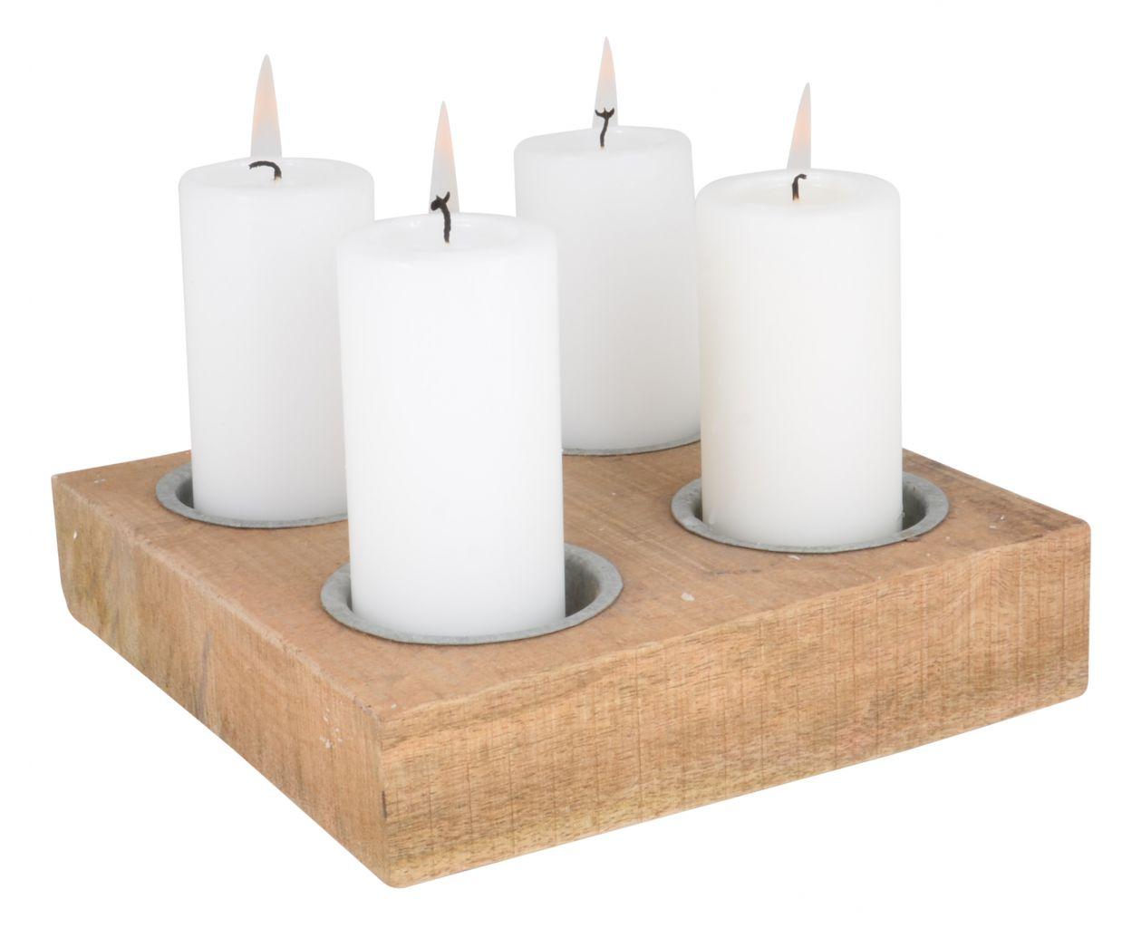 Dřevěný adventní svícen WOOD IB LAURSEN