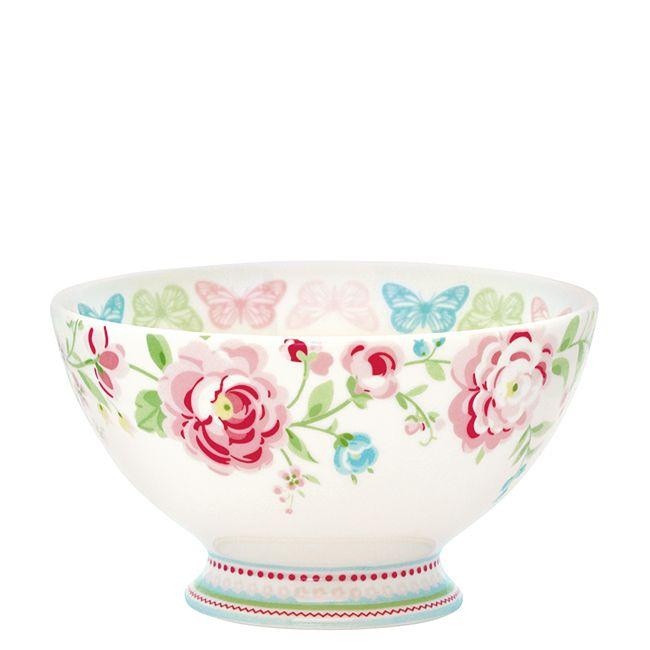 pol vkov miska summer white bella rose. Black Bedroom Furniture Sets. Home Design Ideas