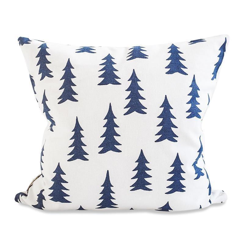 Fine Little Day Povlak na polštář Gran blue 50x50, modrá barva, textil