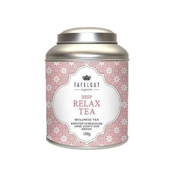 TAFELGUT Bylinný relaxační čaj - 100 gr Růžová dóza
