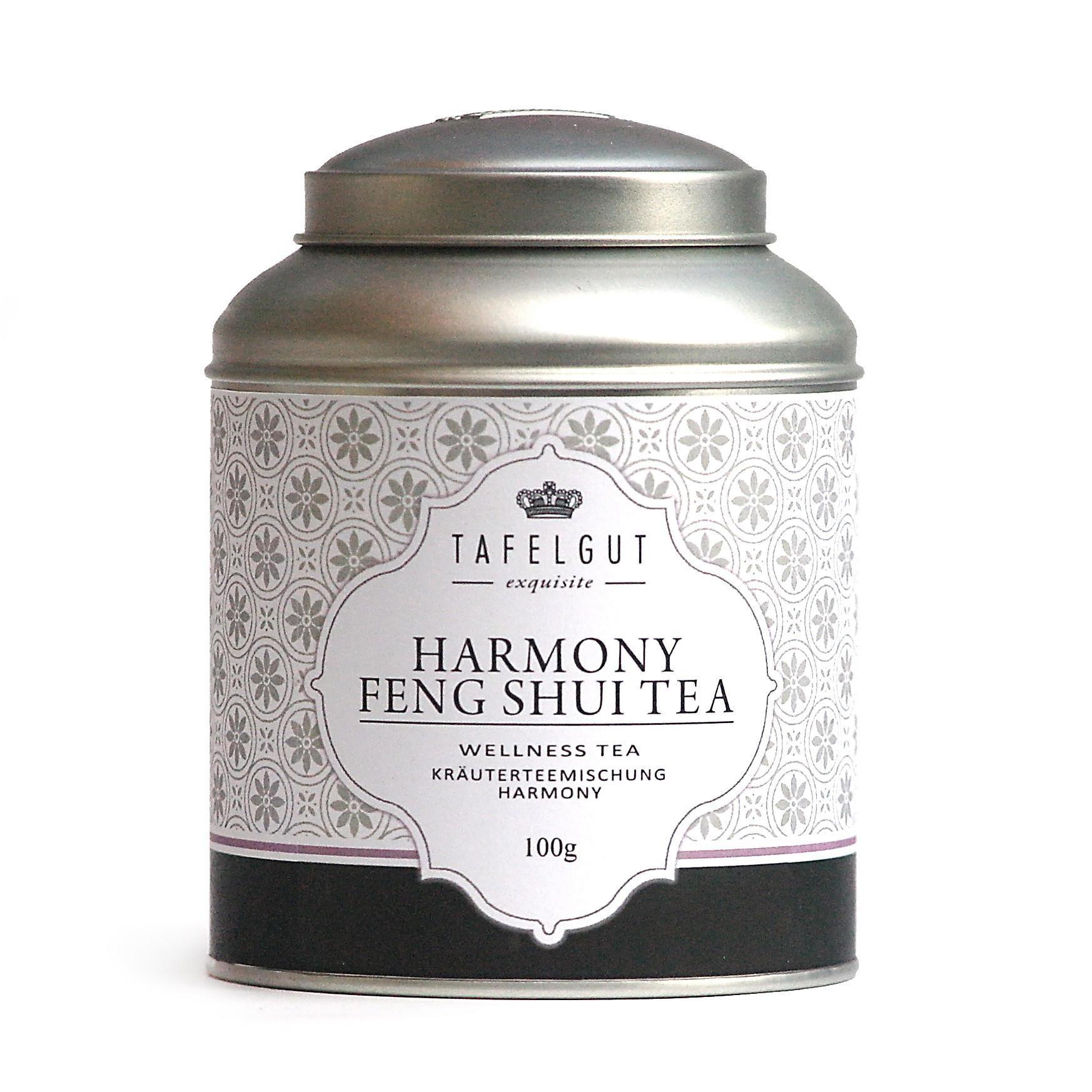 TAFELGUT Bylinný čaj Feng shui - 100 gr Šedá dóza