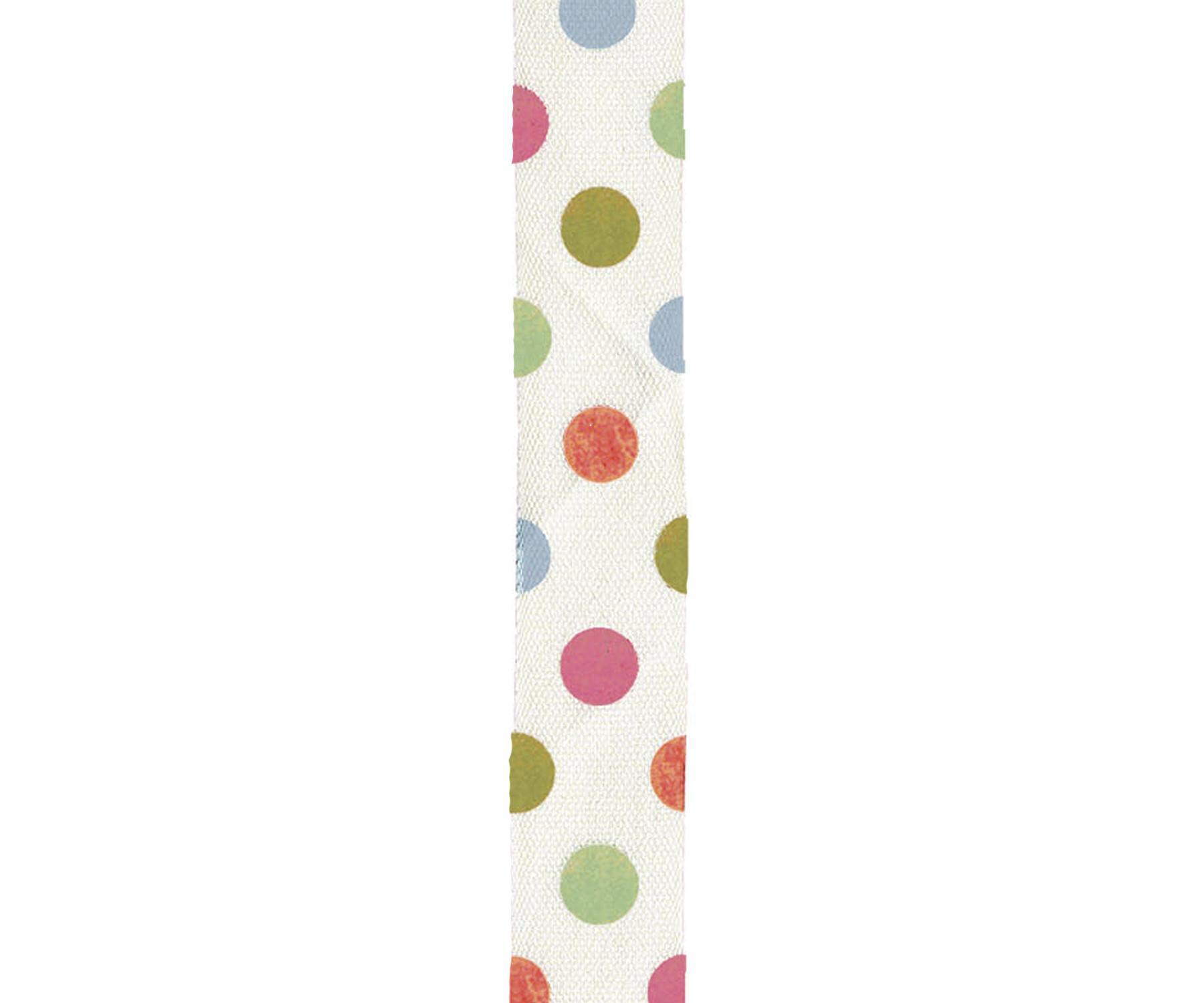 Maileg Bavlněná stuha Multi dot, multi barva, textil