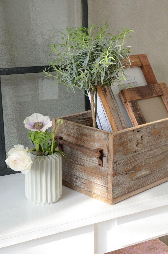 IB LAURSEN Úložný dřevěný box Iron Menší