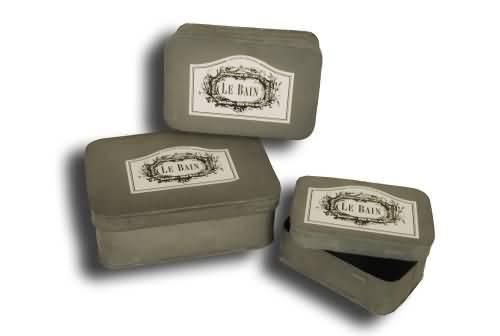 Kovový box Le Bain