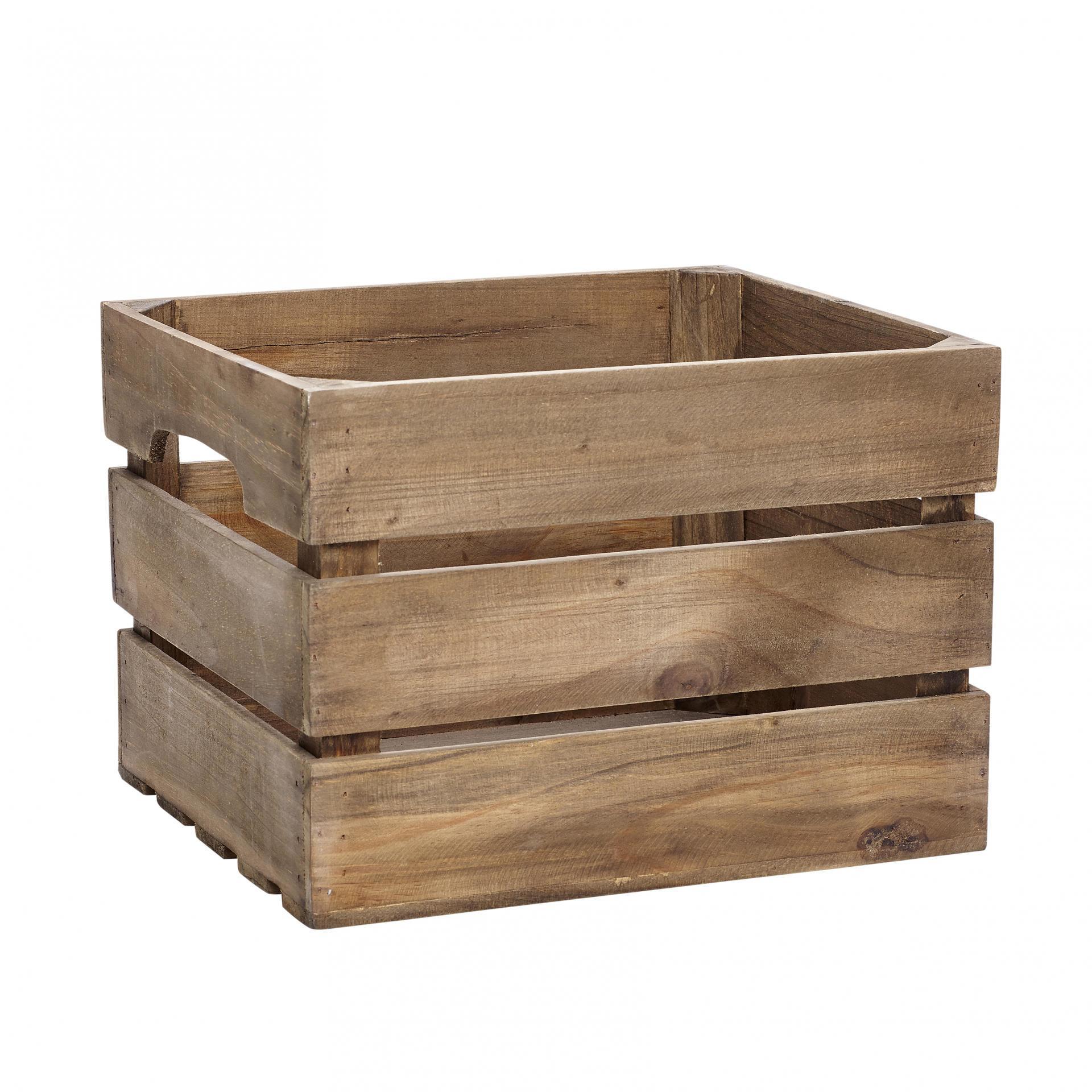 Hübsch Dřevěná bedýnka Box