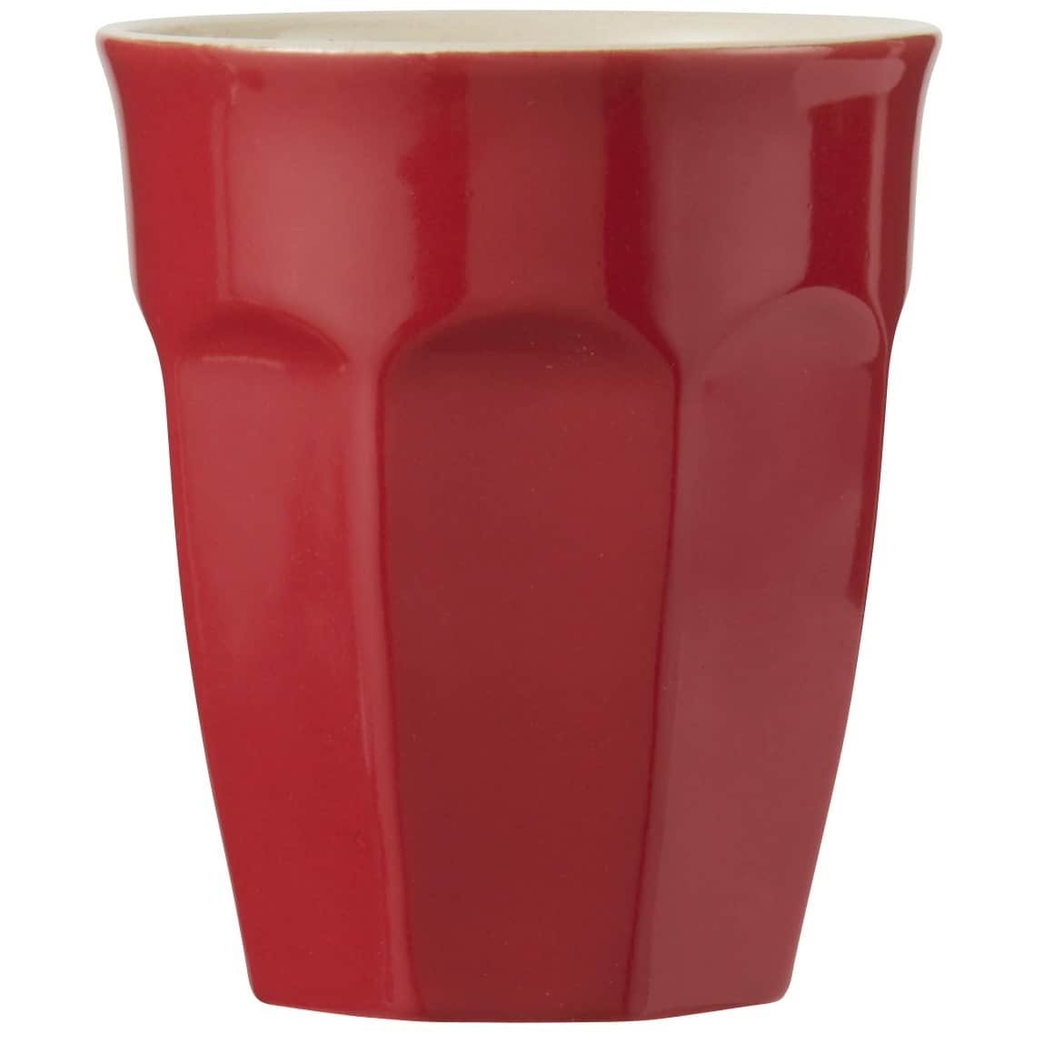 IB LAURSEN Latte hrneček Mynte red 250 ml, červená barva, keramika