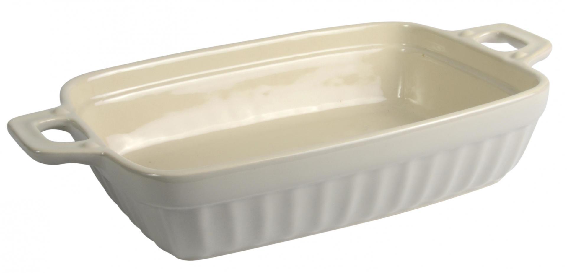 IB LAURSEN Zapékací mísa Mynte latte - medium, béžová barva, keramika