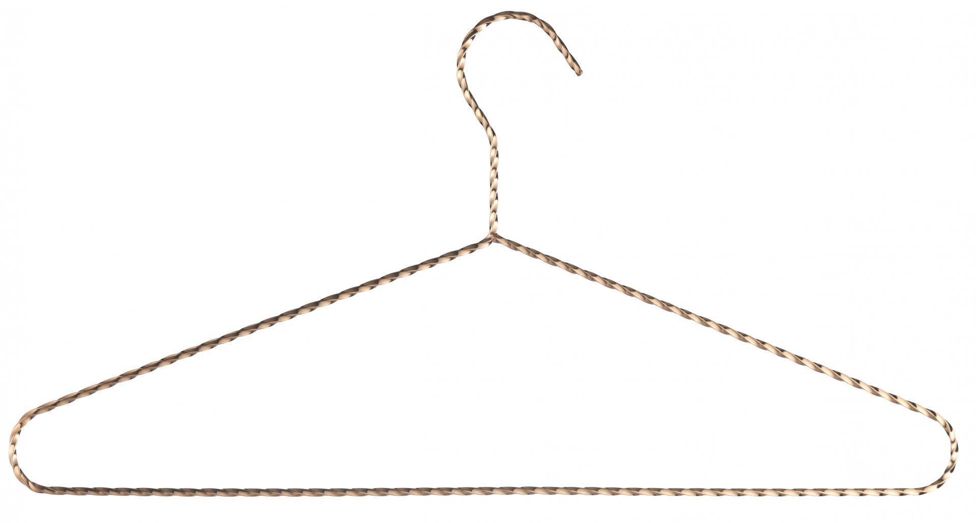 MADAM STOLTZ Ramínko na šaty Copper, žlutá barva, měděná barva, kov