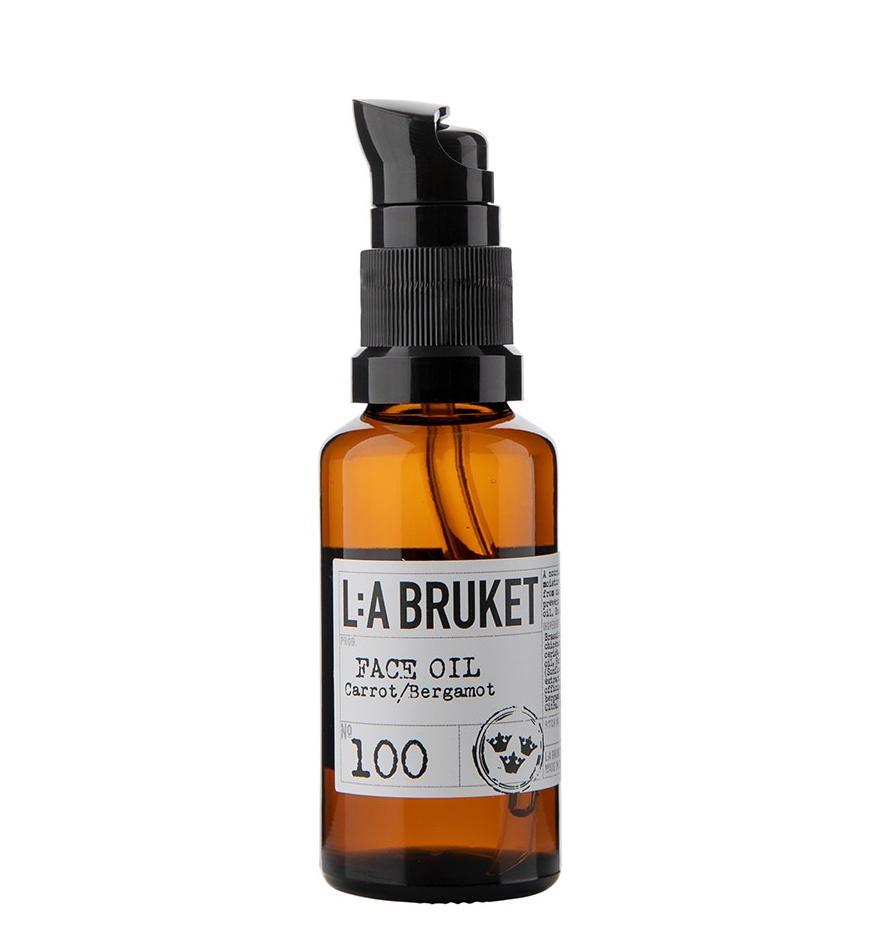 L:A BRUKET Anti-age sérum z mrkve a bergamotu 30 ml, hnědá barva, sklo