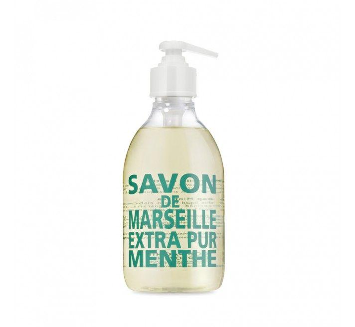 COMPAGNIE DE PROVENCE Tekuté mýdlo Menthe 300 ml, zelená barva, plast