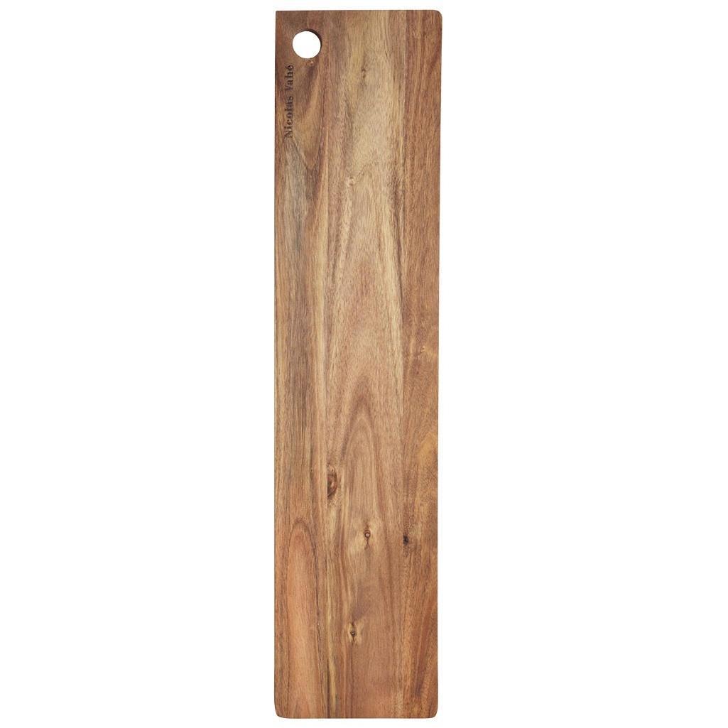 Nicolas Vahé Dřevěné prkénko Acacia 14 x 60 cm, hnědá barva, přírodní barva, dřevo