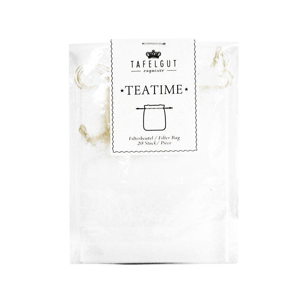 TAFELGUT Čajové papírové filtry - 20 ks, bílá barva, papír