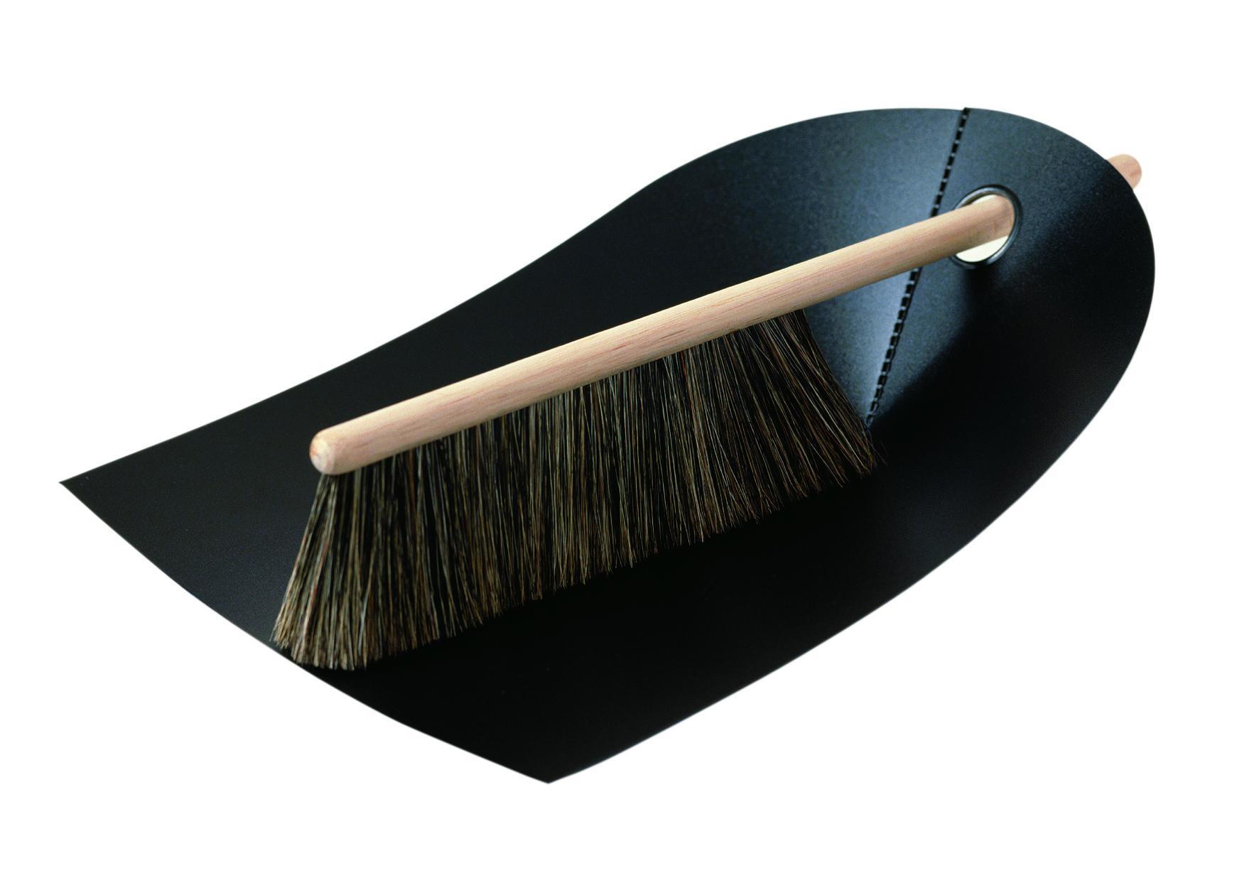 normann COPENHAGEN Lopatka se smetáčkem Black, černá barva